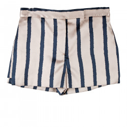 STRIPED ROSE SHORTS