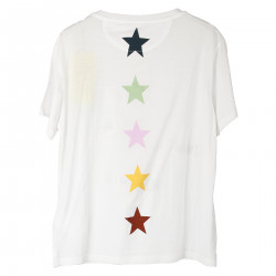 T SHIRT BIANCA CON STAMPA