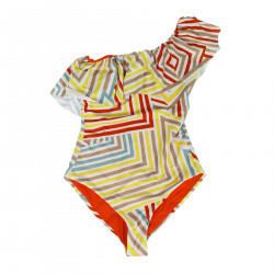 MULTICOLOR ONE PIECE SWIMSUIT