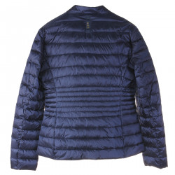 SHORT BLUE PADDED JACKET