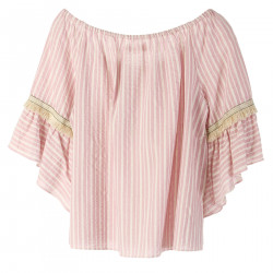 PINK STRIPES TOP