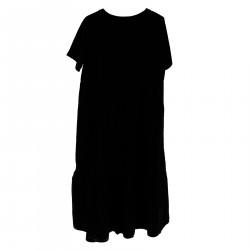 BLACK DAVIS DRESS