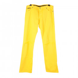YELLOW TROUSERS WITH RIPPED