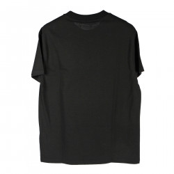 BLACK T SHIRT WITH PRINT