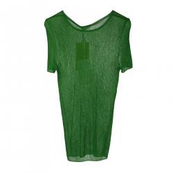 GREEN SLIM SWEATER