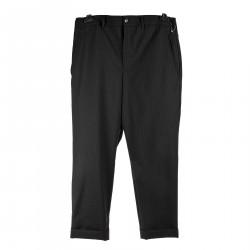 PINSTRIPE BLACK PANTS
