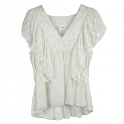 WHITE SHORT SLEEVES SHIRT