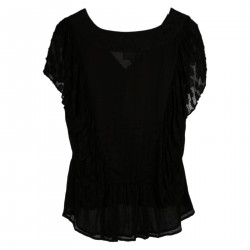 BLACK SHORT SLEEVES SHIRT