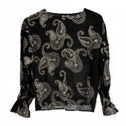 EMBROIDERED BLACK SWEATER