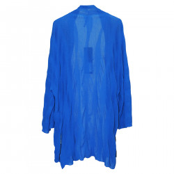 BLUE COTTON CARDIGAN