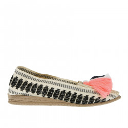 BEIGE ESPADRILLAS WITH TASSELS