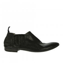 BLACK LETHER BOLLA BOOTS