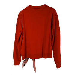 ANDY WARHOL RED PULLOVER