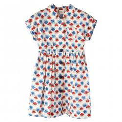 BEIGE FLOWER DRESS