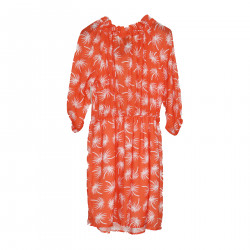 ORANGE FUEGO DRESS