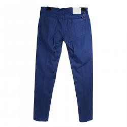 BLUE COTTON PANTS