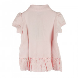 POLO COLOR PINK SHORT SLEEVE
