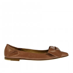 FLAT SHOE WITH BOW