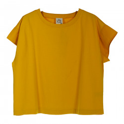 T SHIRT MARY GIALLA
