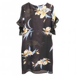 PEONIA BLACK DRESS