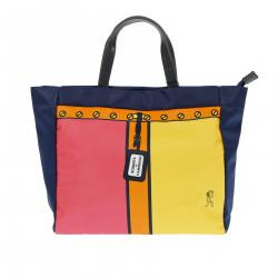 GIULIA BLUE SHOPPING BAG