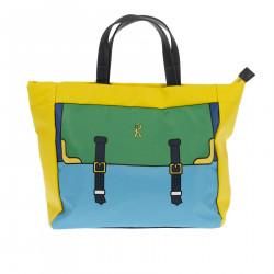 GIULIA YELLOW SHOPPING BAG