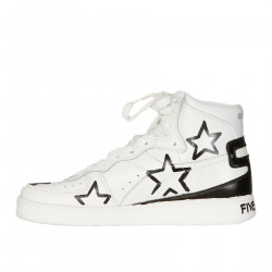 BLACK AND WHITE BASKET SNEAKER