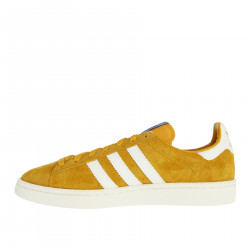 YELLOW SUEDE SNEAKER