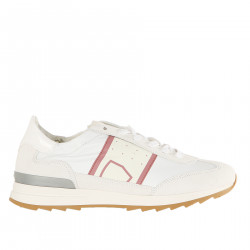 WHITE SNEAKER WITH PURPLE DETAIL TOUJOURS