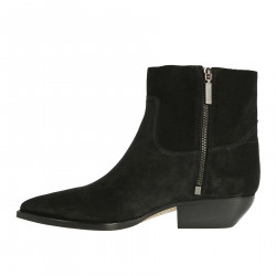 BLACK SUEDE BOOT