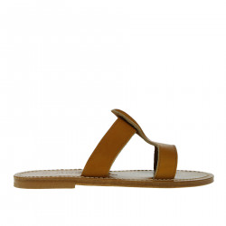 RHEA BROWN SANDAL