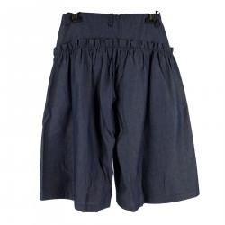 BLUE SKIRT PANTS