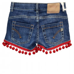 BLUE SHORTS OF JEANS WITH DETAILS