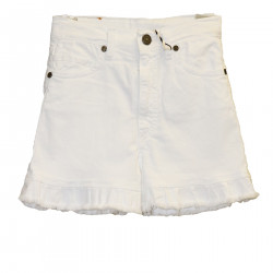 SHORTS BIANCO IN JEANS
