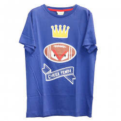 BLUE T SHIRT WITH FANTASY