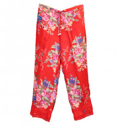 RED TROUSERS WITH FANTASY