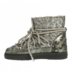 SILVER MOON BOOT WITH PAILLETTES