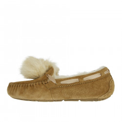 LOAFER WITH POMPON