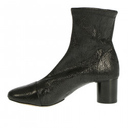 BLACK EXOTIC BOOTS