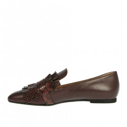 BORDEAUX LEATHER LOAFER