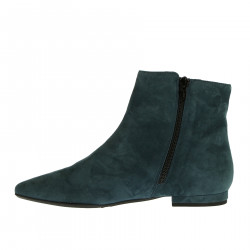 OIL GREEN SUEDE BOOT
