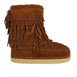 SUEDE LOW MOON BOOT