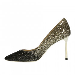 BLACK AND GOLD ROMY DECOLLETE