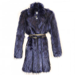 BLUE ECO FUR