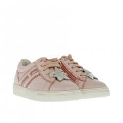 PINK LEATHER SNEAKER