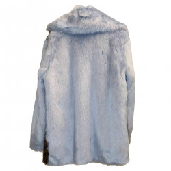 ANIMALIER AND LIGHT BLUE ECO FUR