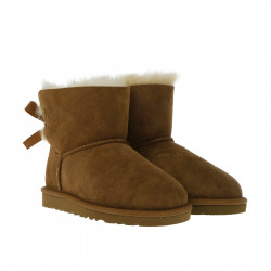 K MINI BAILEY BROWN BOOT WITH BOW