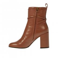 ANTIQUE ROSE LEATHER BOOT