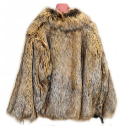 BEIGE ECO FUR