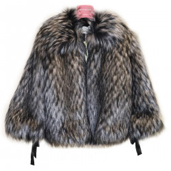 GRAY ECO FUR